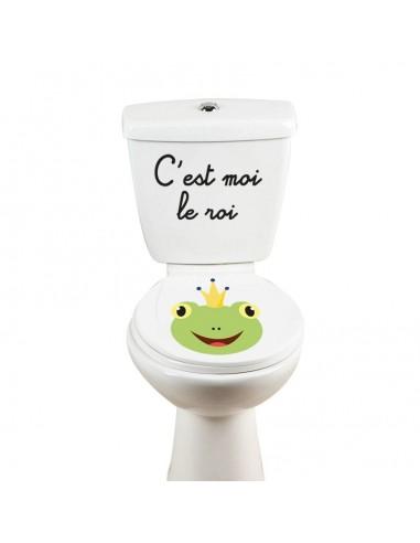 Stickers WC,Sticker WC: Grenouille