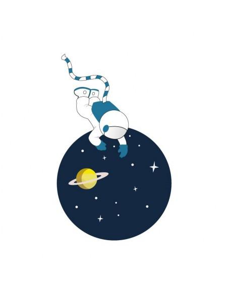 Stickers WC,Sticker WC: Astronautes