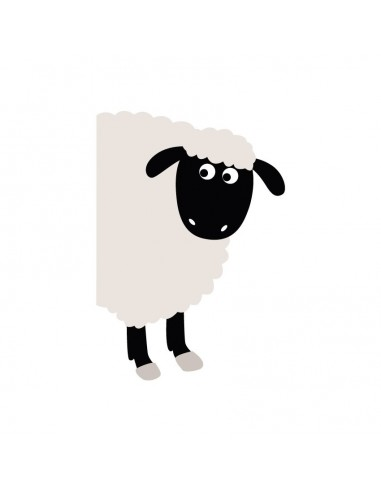 Stickers WC,Sticker WC: Mouton