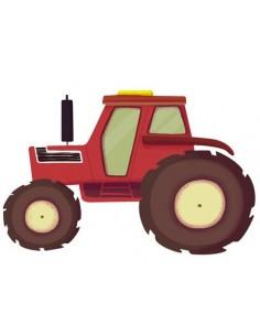 Stickers Ferme,Sticker enfant: Tracteur Ferme