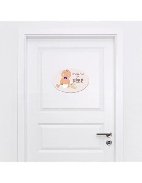Plaques de porte,Plaque de porte: Bébé