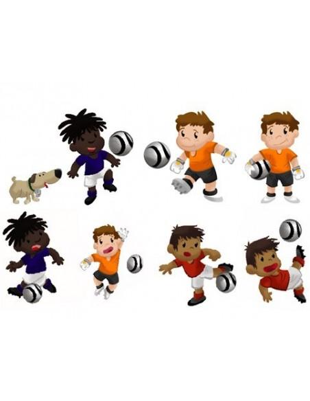 Stickers Sport,Stickers: Joueurs de Foot (série 1)