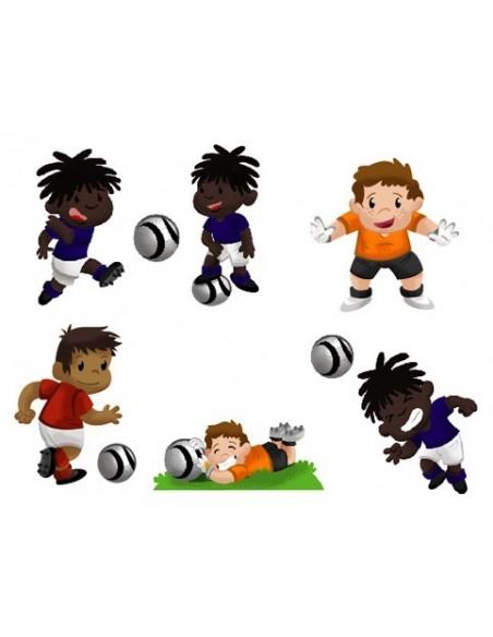 Stickers Sport,Stickers: Joueurs de Foot (série 2)
