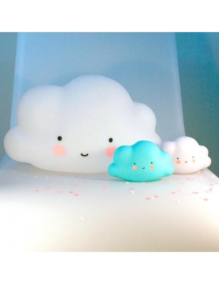 Veilleuses,Veilleuse nuage bleu