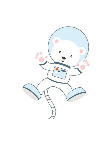 Stickers Prise,Sticker prise: Ourson astronaute