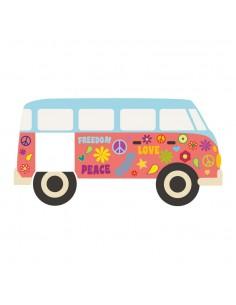 Stickers Prise,Sticker prise: Combi hippie