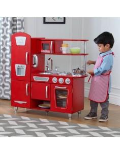 Cuisine & Dînette,Cuisine Enfant Vintage Rouge