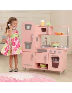 Cuisine & Dînette,Cuisine Enfant Vintage Rose