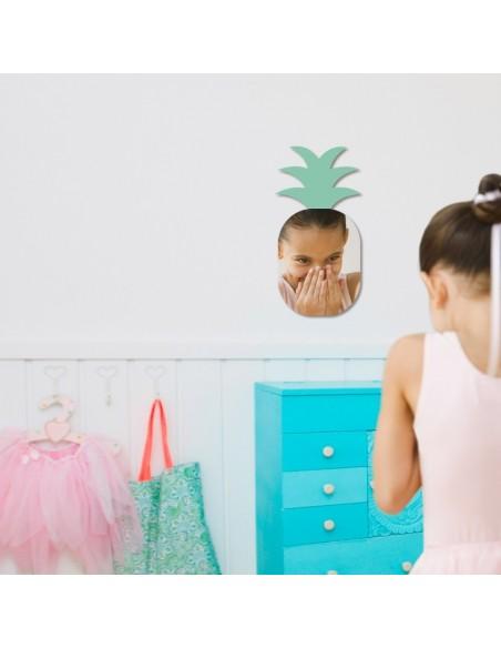 Miroir enfant,Miroir enfant: Ananas