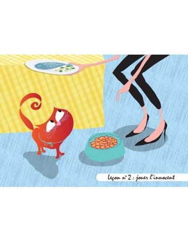 Set de table,Set De Table Chat: Gribouille - Leçon n°2