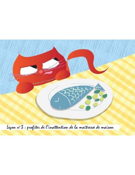 Set de table,Set De Table Chat: Gribouille - Leçon n°3