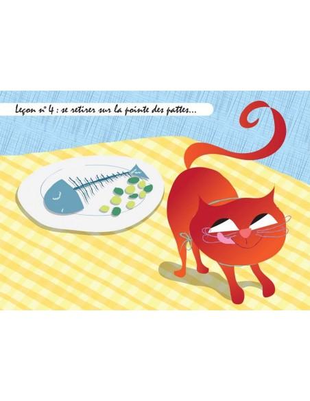 Set de table,Set De Table Chat: Gribouille - Leçon n°4