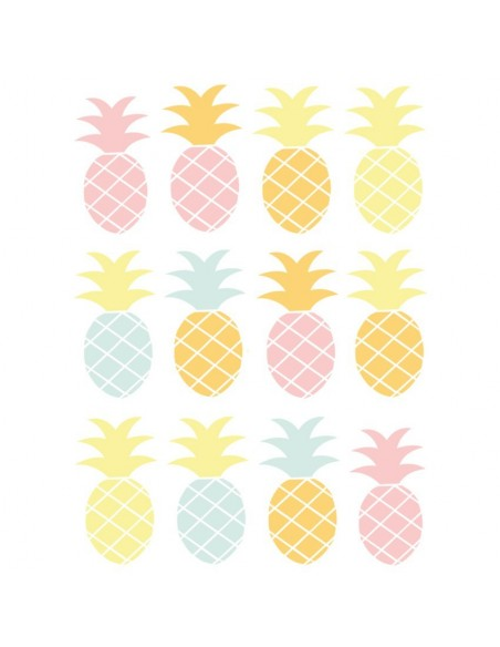 Stickers Graphiques,Stickers Frise: Ananas Rose