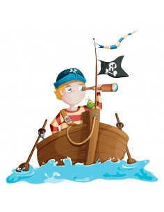 Stickers Pirates,Sticker pirate: Nono