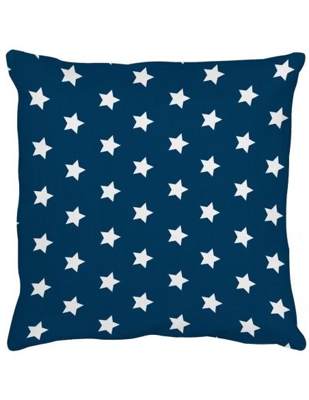 Coussins Déco,Coussin étoiles blanches