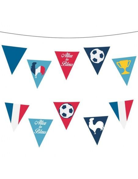 Stickers Sport,Sticker Foot: Fanions France