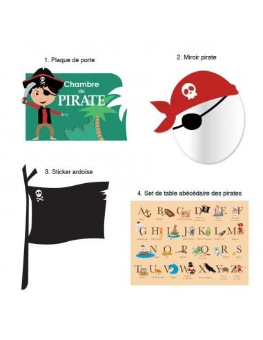 Kit Deco Promo,Kit Déco: Pirate Corsaire
