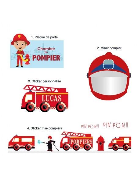 Kit Deco Promo,Kit Déco: Sapeur pompier