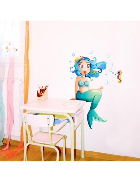 Stickers de la Mer,Stickers: Hippocampe Noé et ses bulles