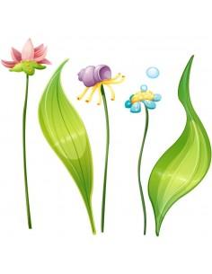Stickers mer : Plantes...
