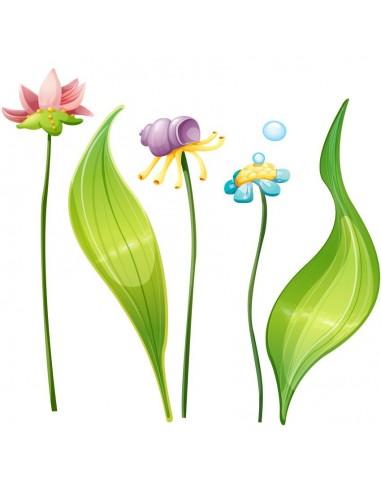 Stickers de la Mer,Stickers mer: Plantes aquatiques