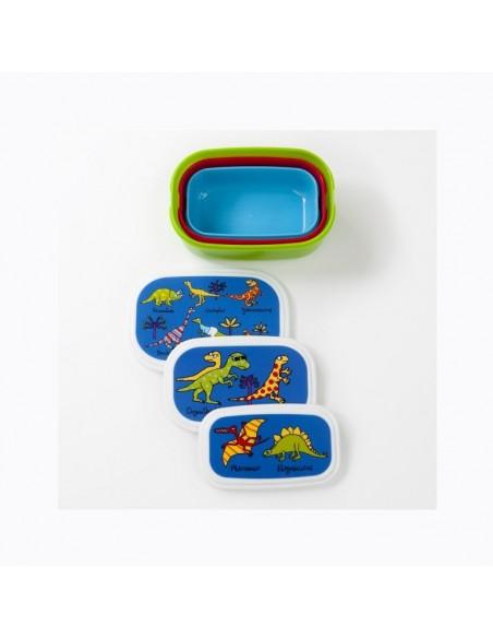 Vaisselle,Boîtes à goûter: Dinosaures