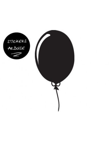 Sticker Ardoise,Sticker ardoise: Ballon ardoise