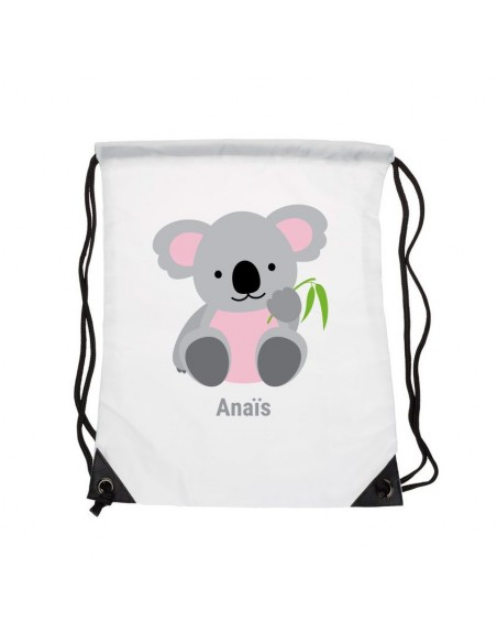 Sacs personnalisés,Sac enfant prénom: Koala
