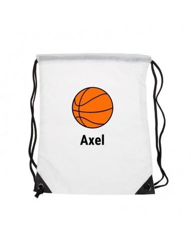Sacs personnalisés,Sac enfant prénom: Basket