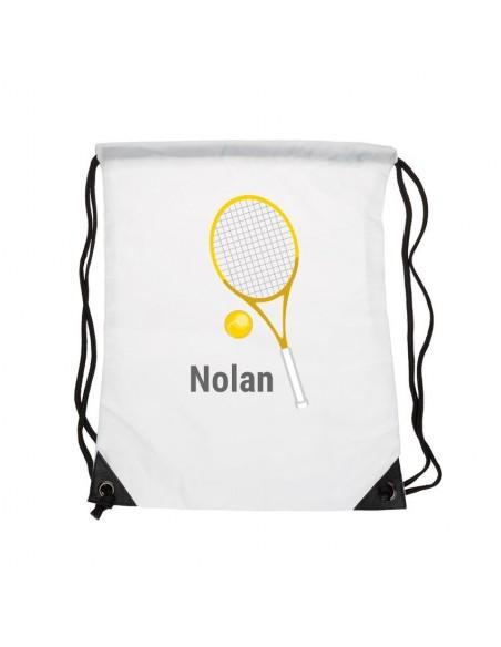 Sacs personnalisés,Sac enfant prénom: Tennis