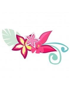 Stickers Monde,Sticker Hawaï: Fleur d'hibiscus