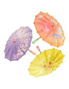 Stickers Asie,Sticker Japon: 3 ombrelles