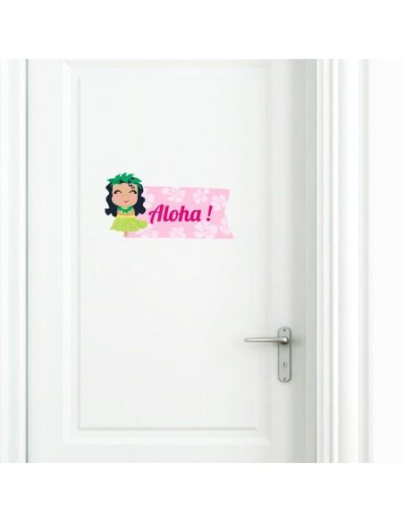 Stickers Prénom,Sticker Prénom: Aloha!