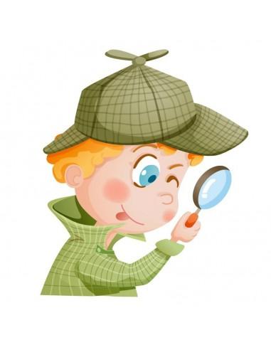 Stickers Monde,Sticker Londres: Sherlock Holmes