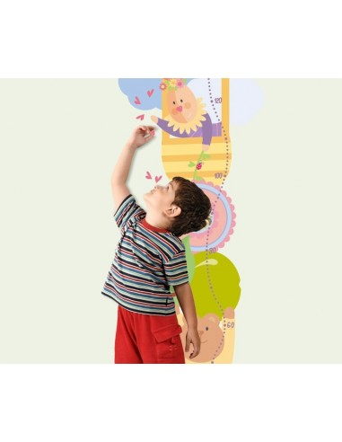 Stickers Nounours Doudous,Sticker mural: Toise Doudou