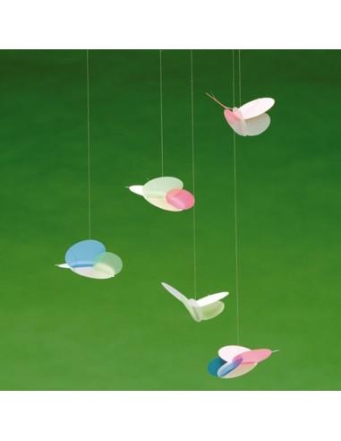 Mobile Bébé,Mobile Papillons