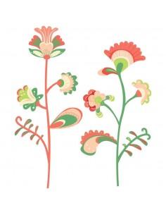 Stickers Russie,Stickers Enfant: Grandes fleurs de Russie