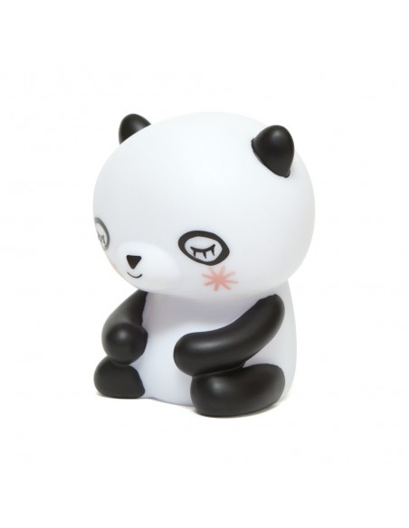 Veilleuses,Veilleuse panda noire