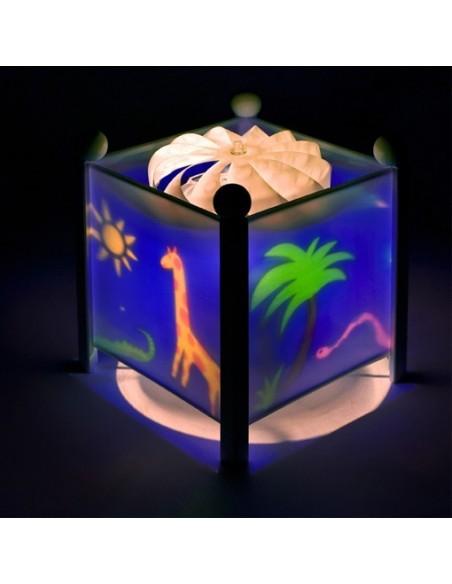 Veilleuses,Veilleuse magique: La Jungle