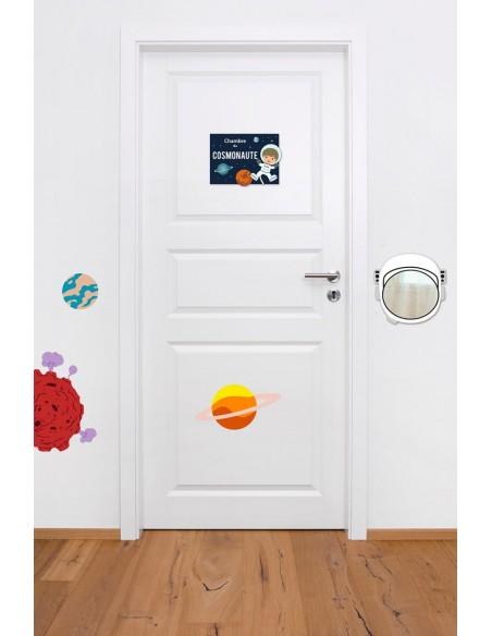 Plaques de porte,Plaque de Porte: Cosmonaute