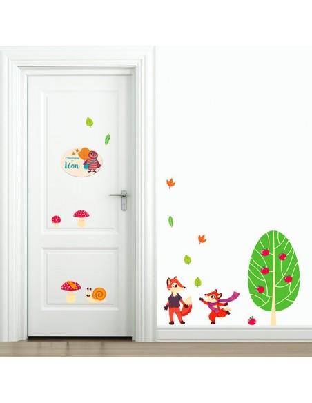 Plaques de porte,Plaque personnalisée: Hibou