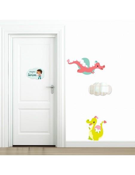 Plaques de porte,Plaque personnalisée: Prince