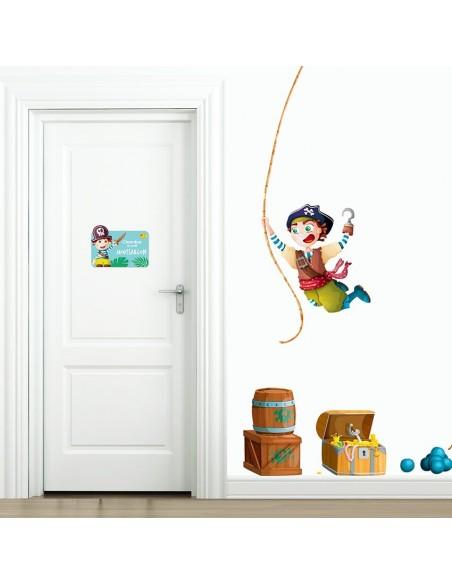 Plaques de porte,Plaque de Porte: Moussaillon
