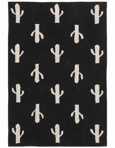 Tapis Lavables,Tapis Enfant: Cactus Stamp