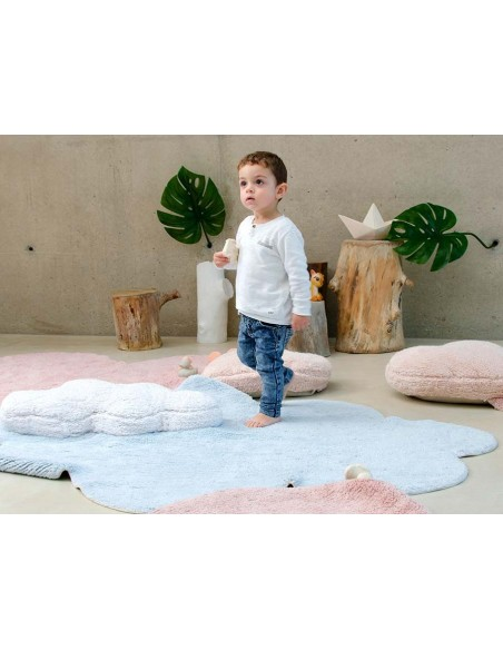 Tapis Lavables,Tapis Enfant: Puffy Dream