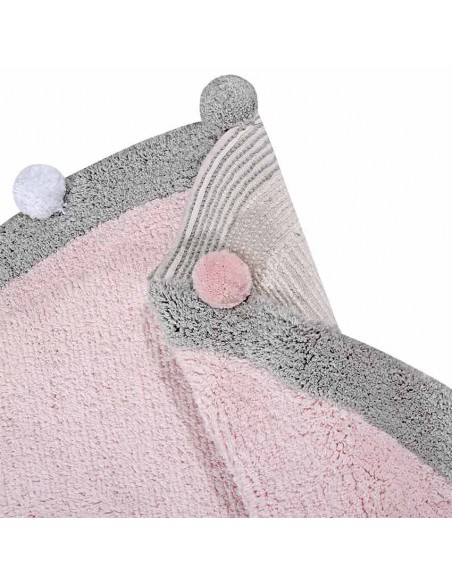 Tapis ronds,Tapis Enfant: Bubbly