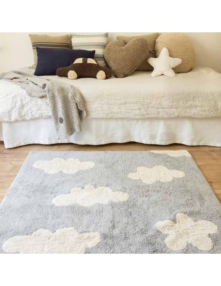 Tous les tapis,Tapis Enfant: Nuages