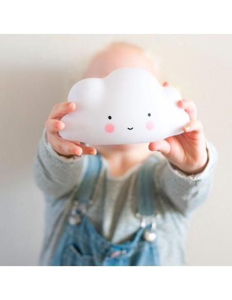 Veilleuses,Veilleuse nuage blanc