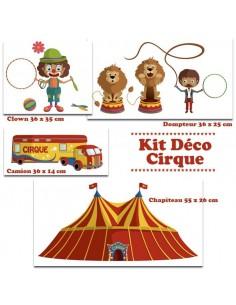 Kit Deco Promo,Kit Stickers: Cirque