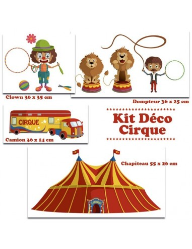 Kit Deco Promo,Kit Stickers: Cirque
